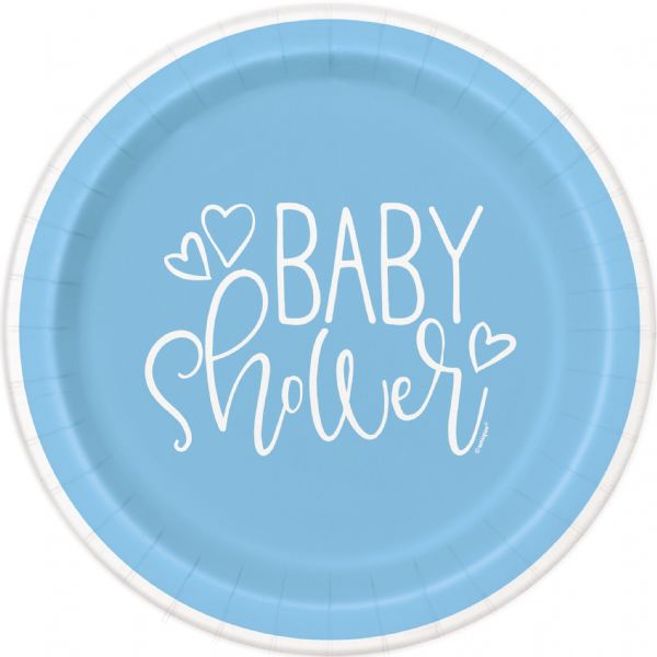 Blue Hearts Baby Shower 7